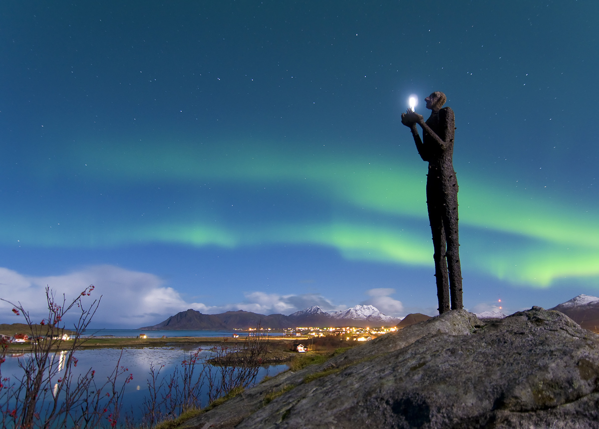 Bø is a great place to see the Northern Lights © Øystein Lunde Ingvaldsen