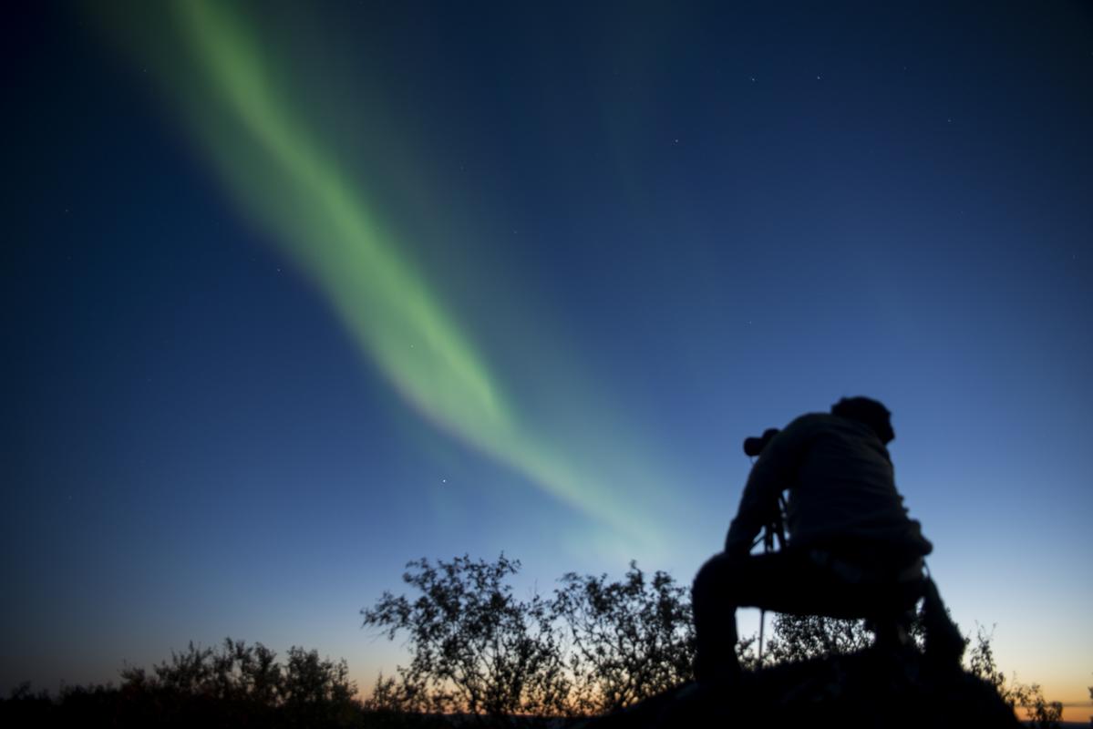 På høsten kan du oppleve nordlyset © Liv Engholm