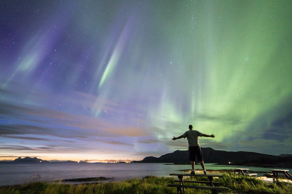 Northern Lights near Bodø (c) Petter Formo