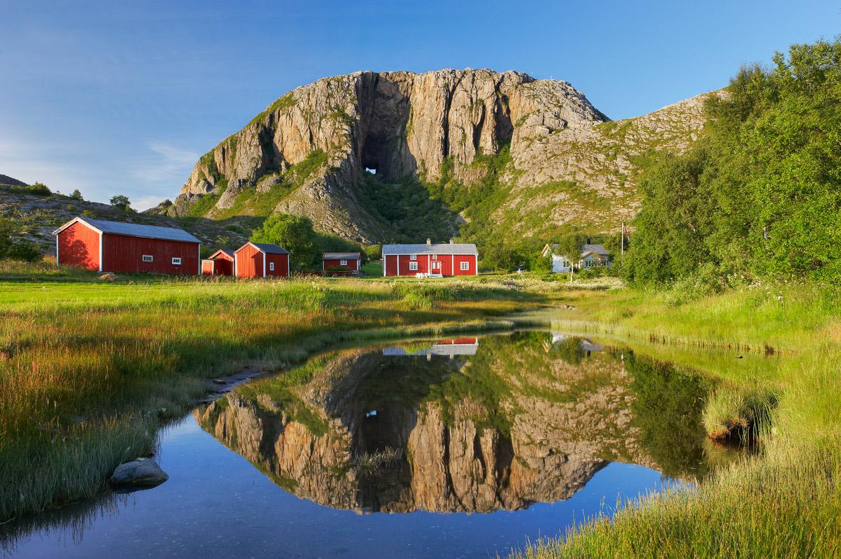 Torghatten is the mountain with the hole © Bård Løken