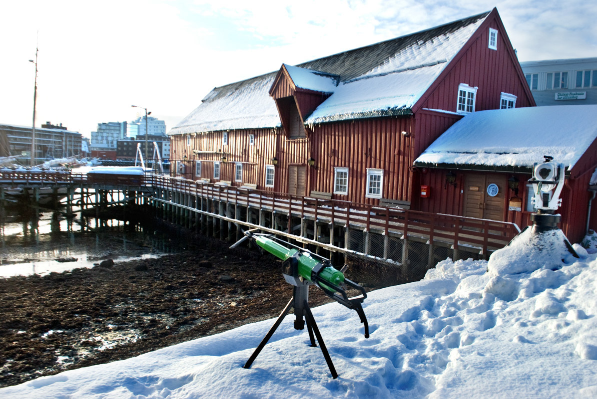 The customs house from 1838 is now the Polar Museum in Tromso (c) Knut Hansvold