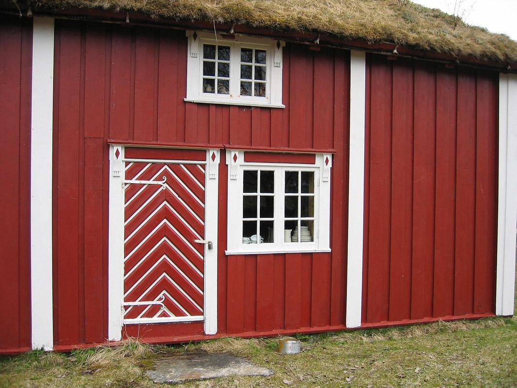 An old house in Sandtorg Bygdetun (c) Sør-Troms Museum