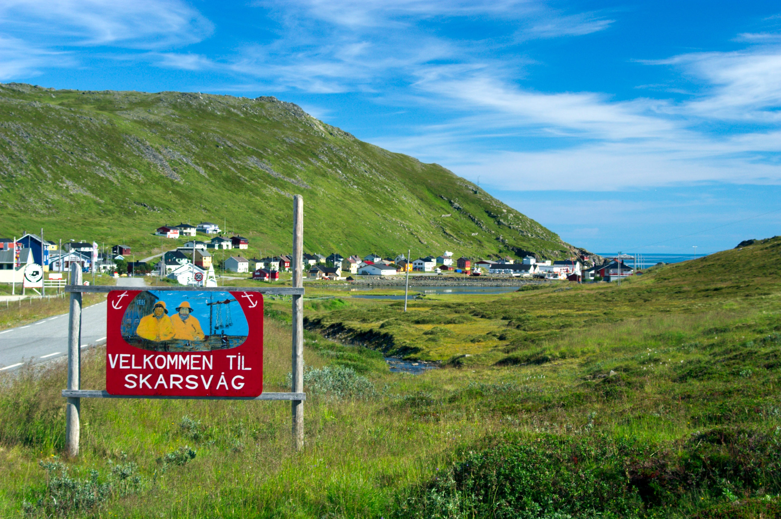 Skarsvåg, the world's most northerly fishing village © Bjarne Riesto