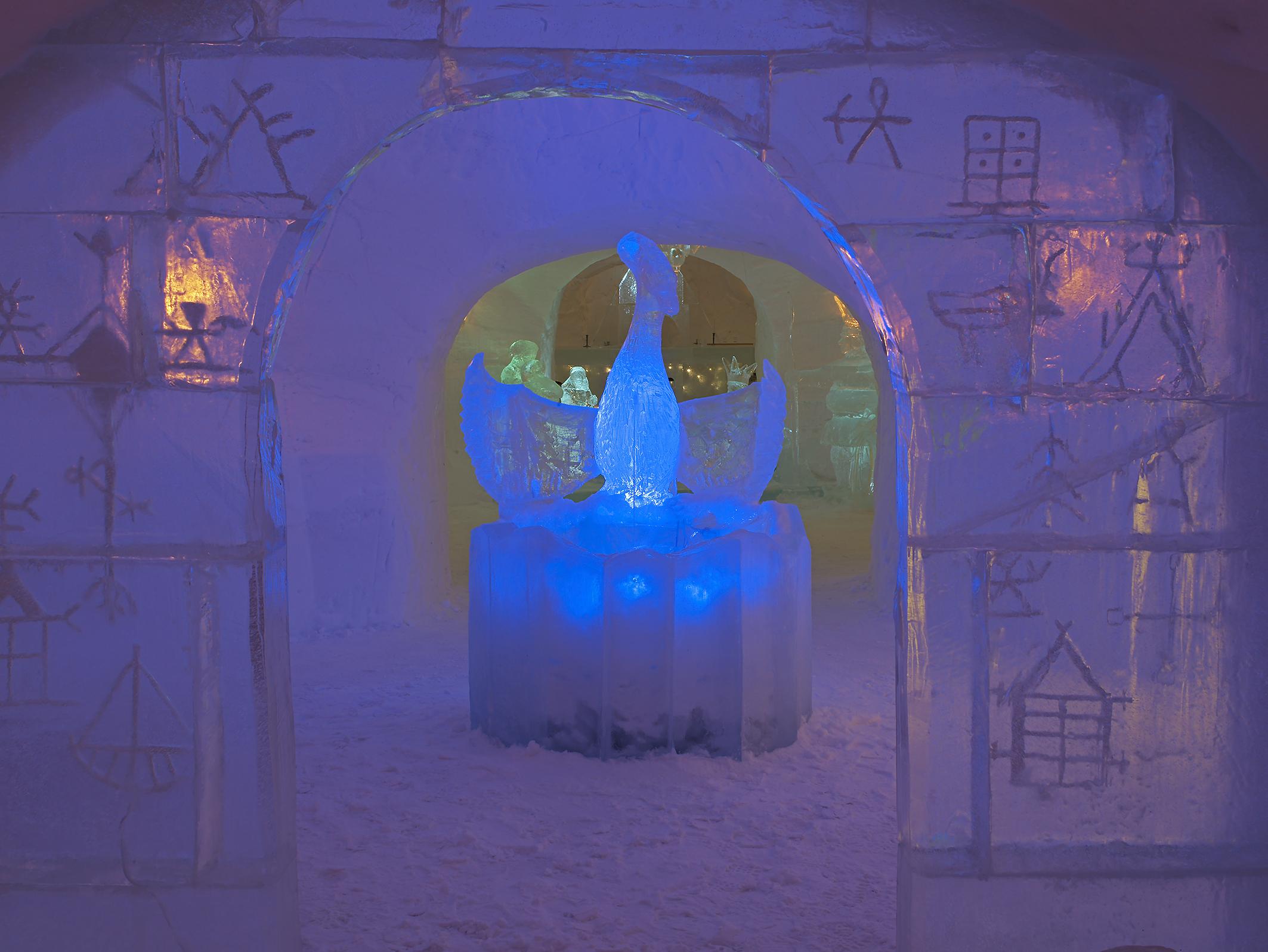 Ishotellet i Alta er verdt en den korte avstikkeren fra E6