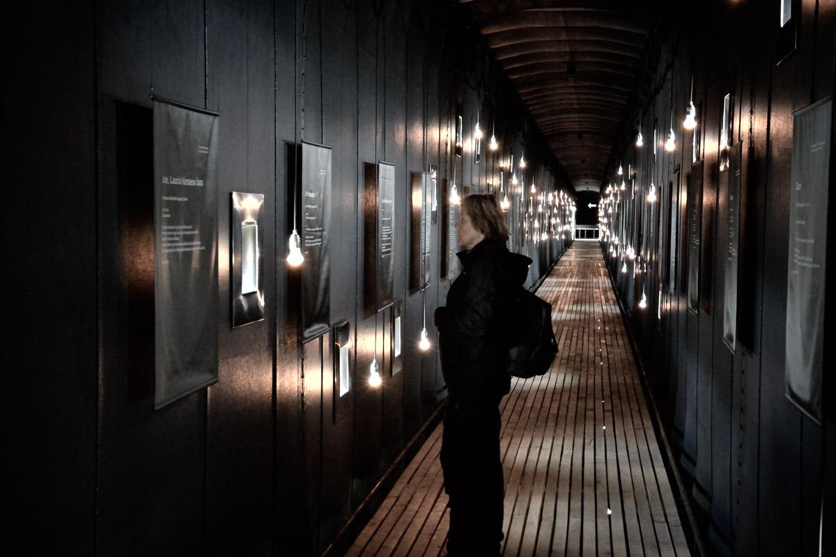 91 victims represented in the memorial hall © Harald Bech-Hanssen / Statens vegvesen