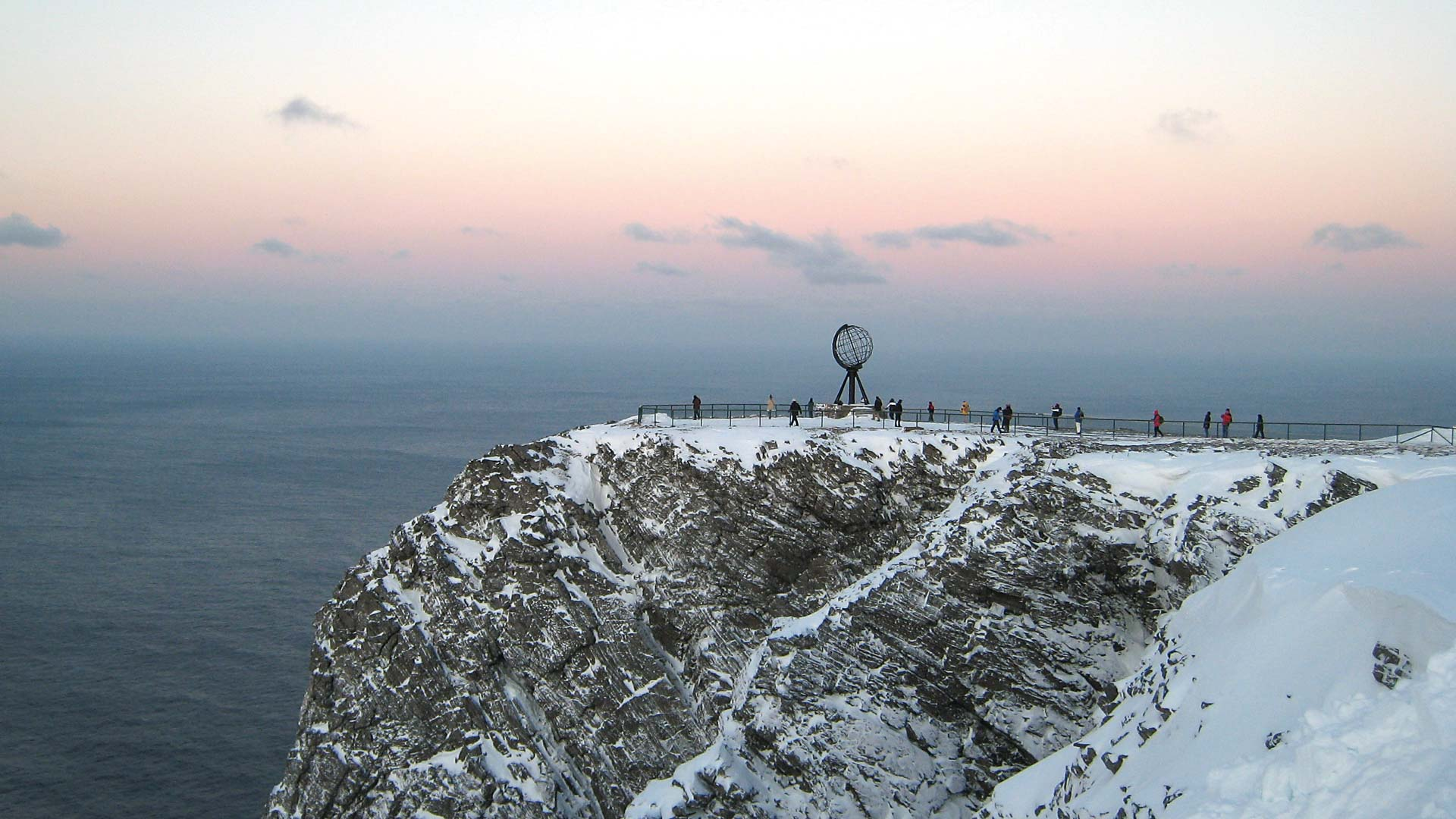 The North Cape during winter