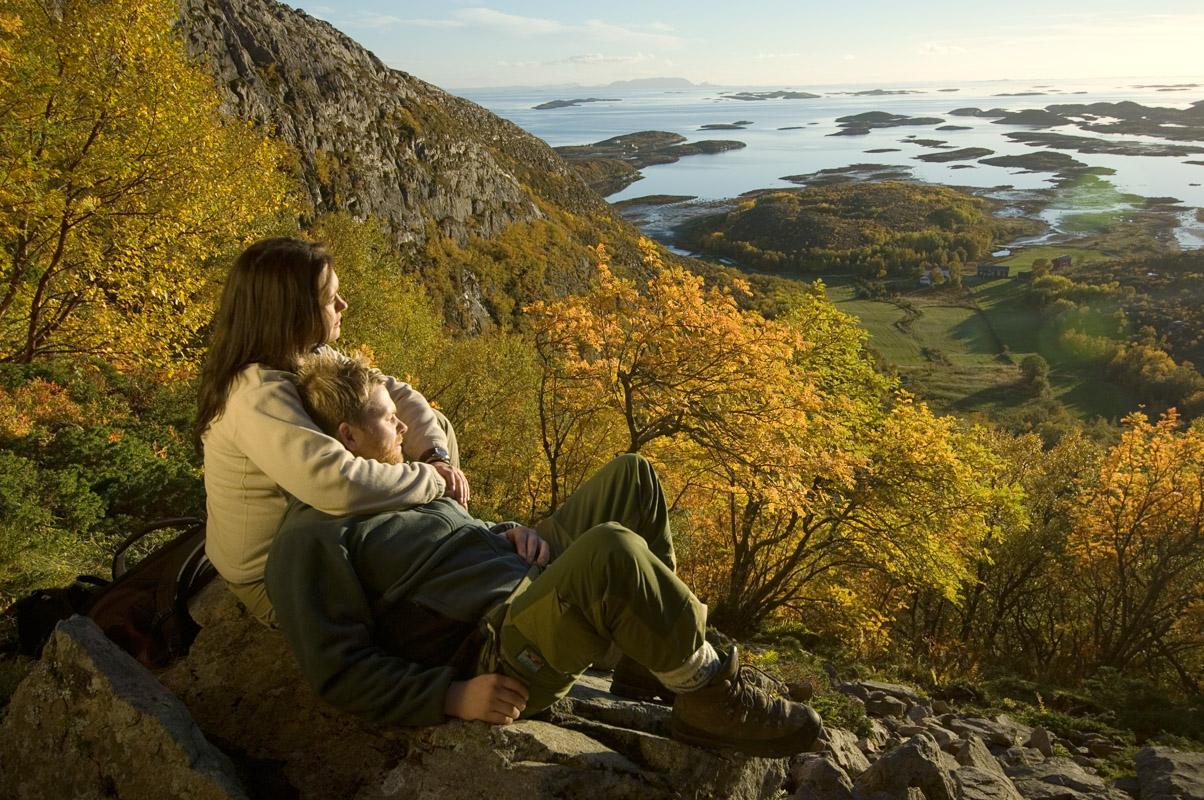 I høstskrud © Terje Rakke/Nordic Life
