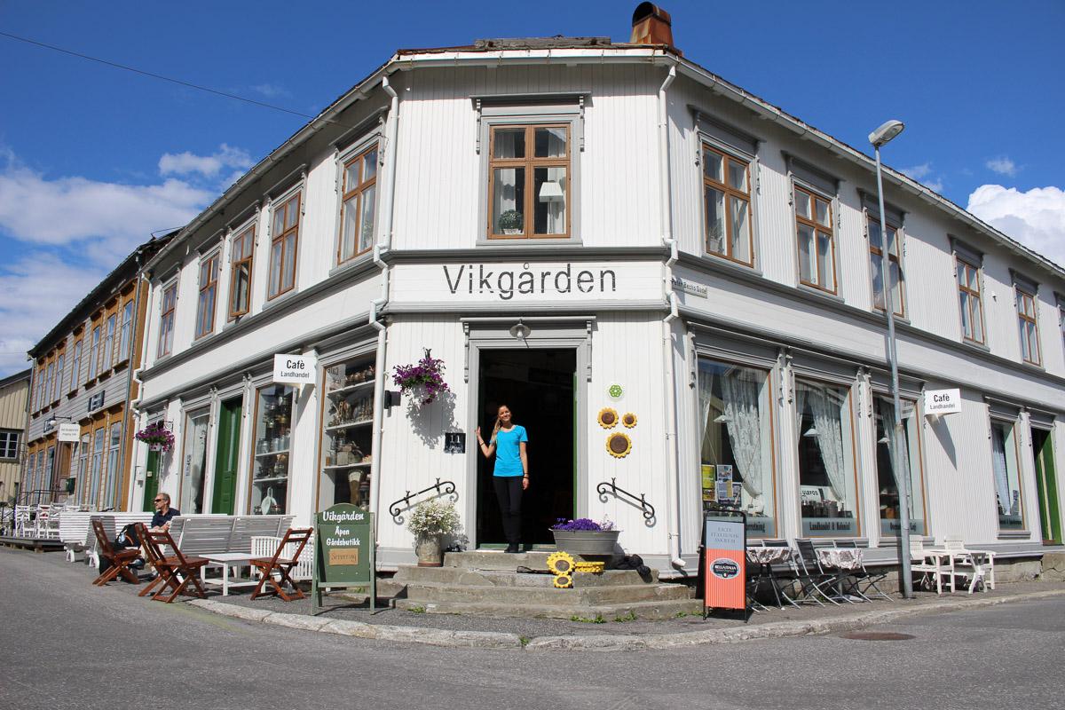 Kaffepausen kan du ta her © Helgeland Reiseliv