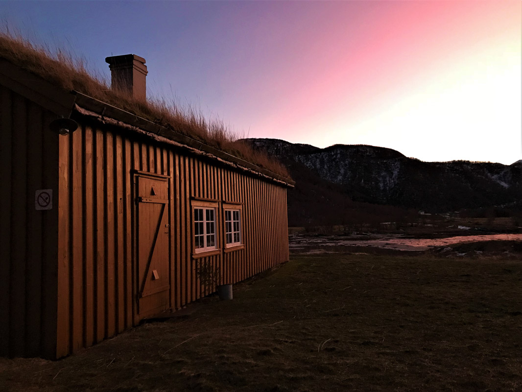 Winter light on Kjerringøy (c) Roger Johansen