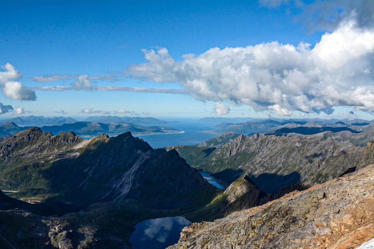 Utsikt fra Møysalen © Knut Hansvold