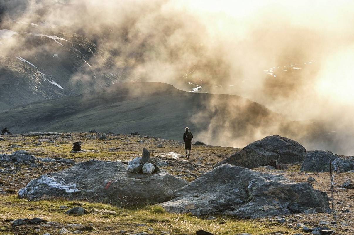 The terrain is soft to walk on (c) Fabrice Milochau