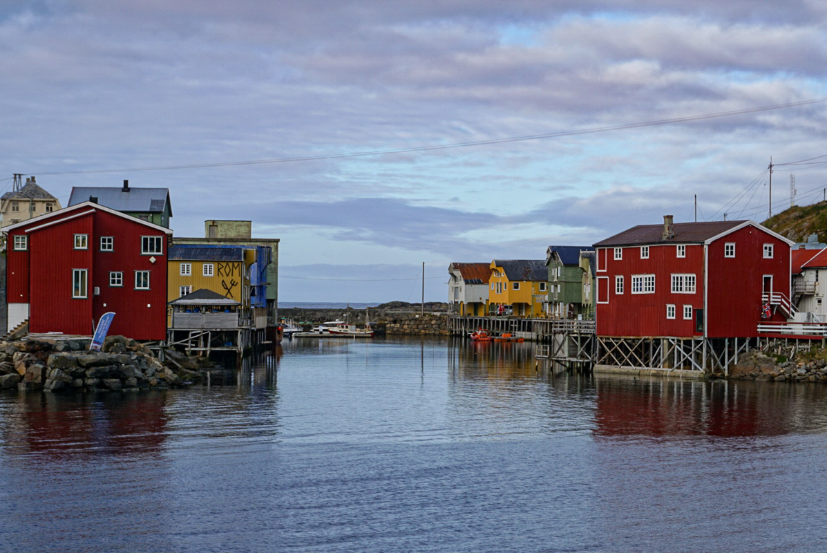 Nyksund is the start and end of the Journey © Knut Hansvold
