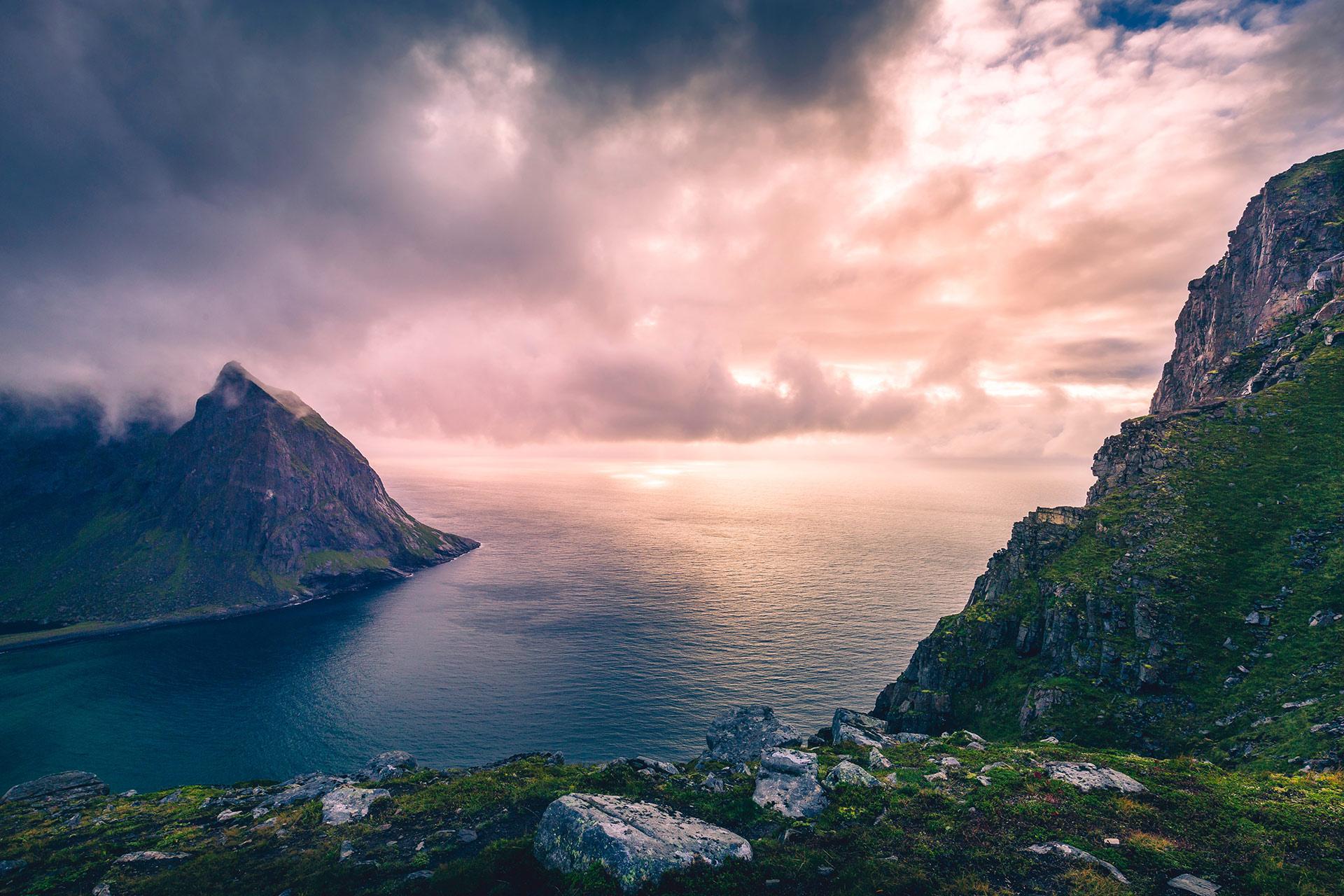 Ryten i Lofoten er en av de mest populære fjellturene