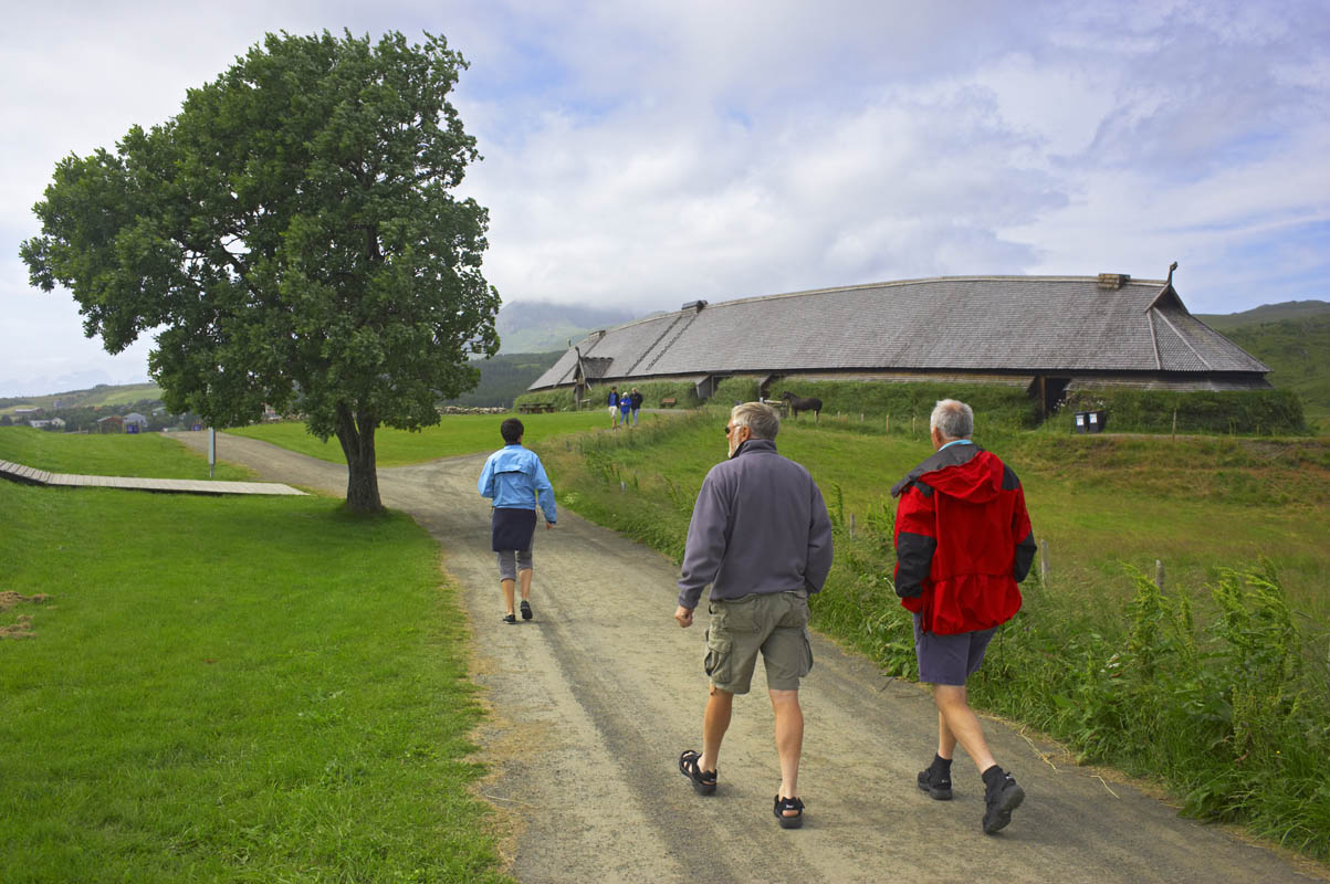 På vei til museet i Lofoten - Bård Løken