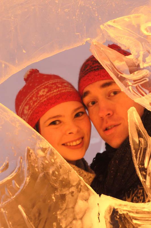 Take your loved one to Sorrisniva ice hotel - (C) Trym Ivar Bergsmo