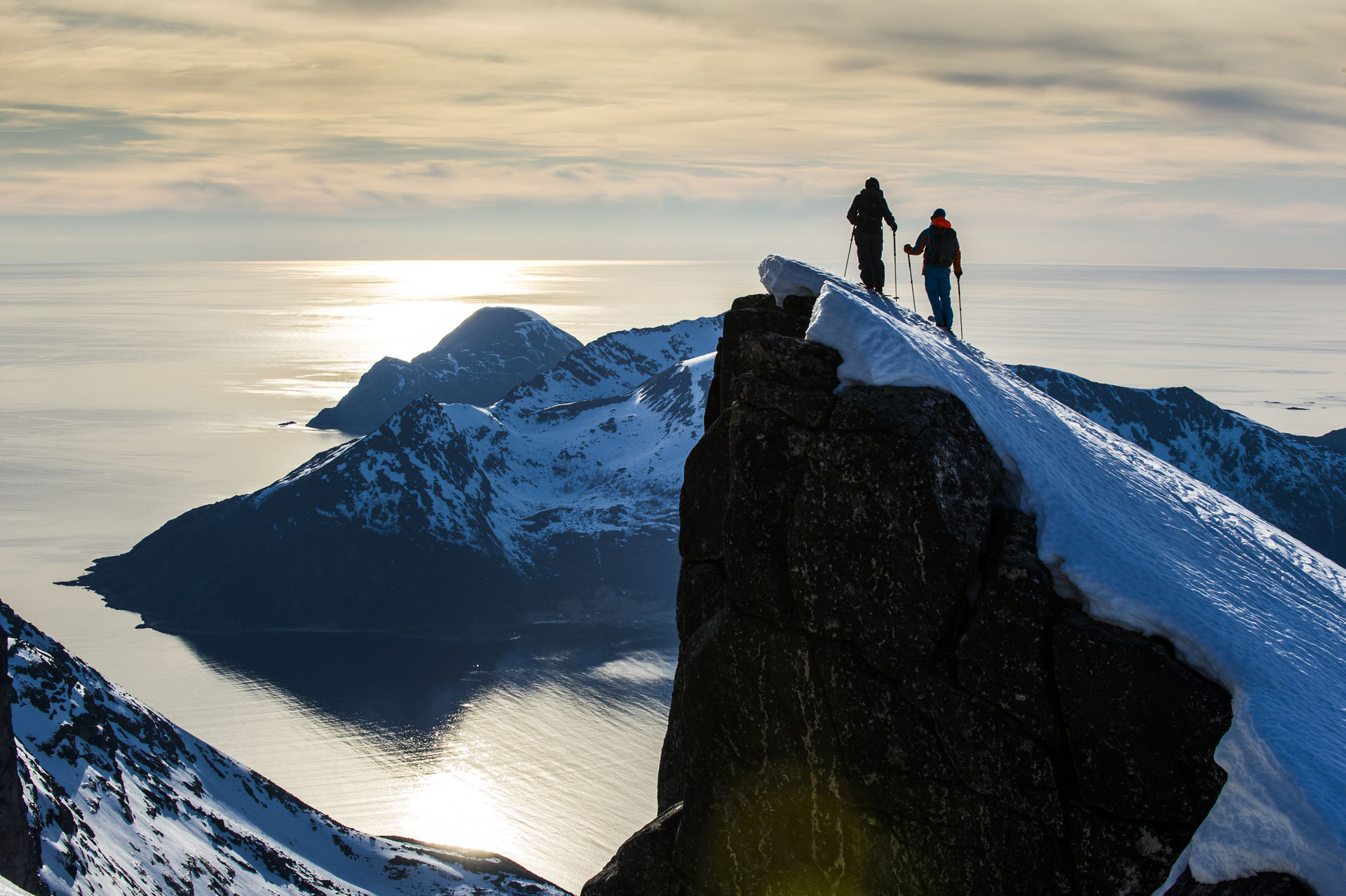 Reaching the summit, definitly for the experienced mountain goer © Jesper Molin