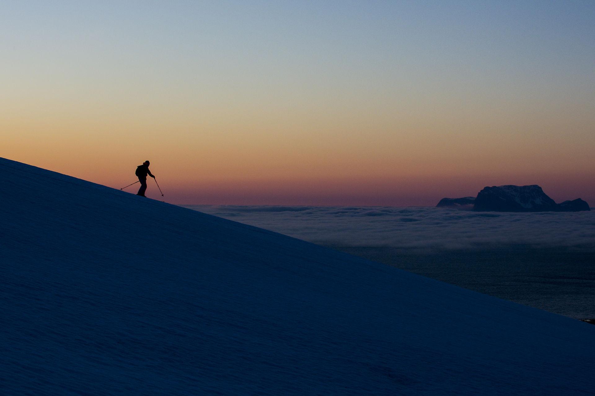 Sunset in late winter © Jesper Molin