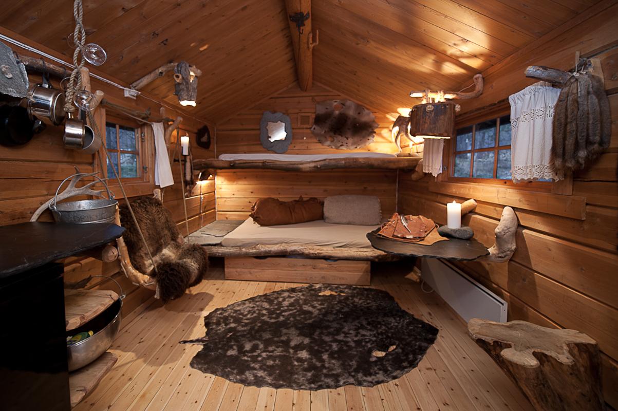 Every cabin is unique (c) Engholm Husky Design Lodge