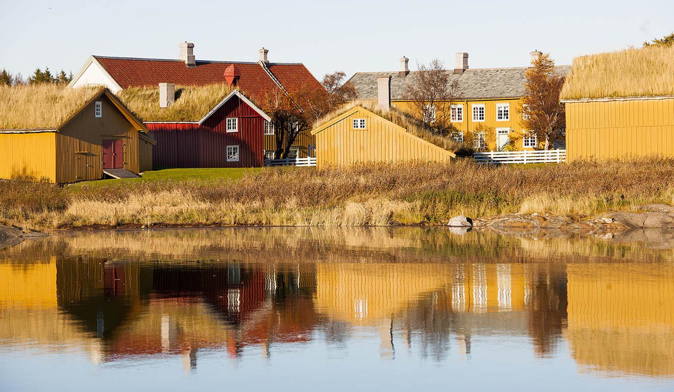 Right outside of Bodø you can visit the trading post Kjerringøy