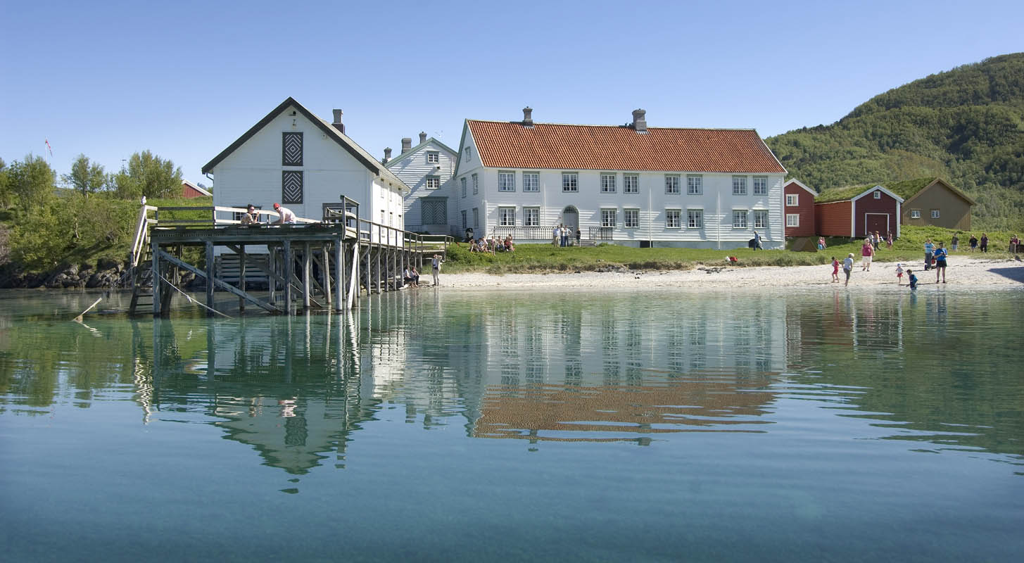 The nature around Kjerringøy is just as beautiful as the culture and history
