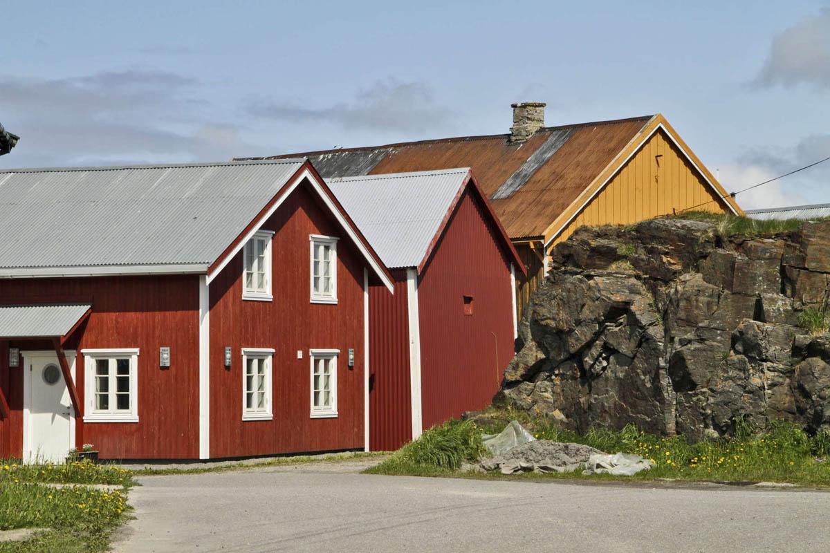 Kystkulturen sitter i veggene på Vega © Tore Schønning Olsen