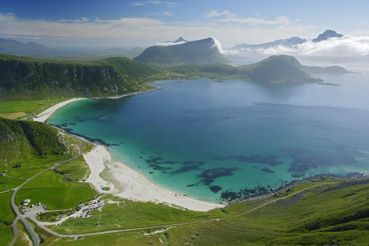 Vestvågøya i Lofoten,
