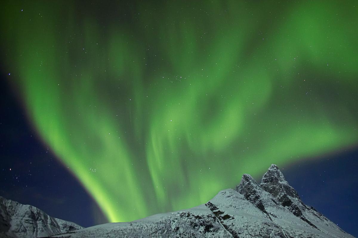 Nordlys i Tromsø © Yngve Olsene Sæbbe