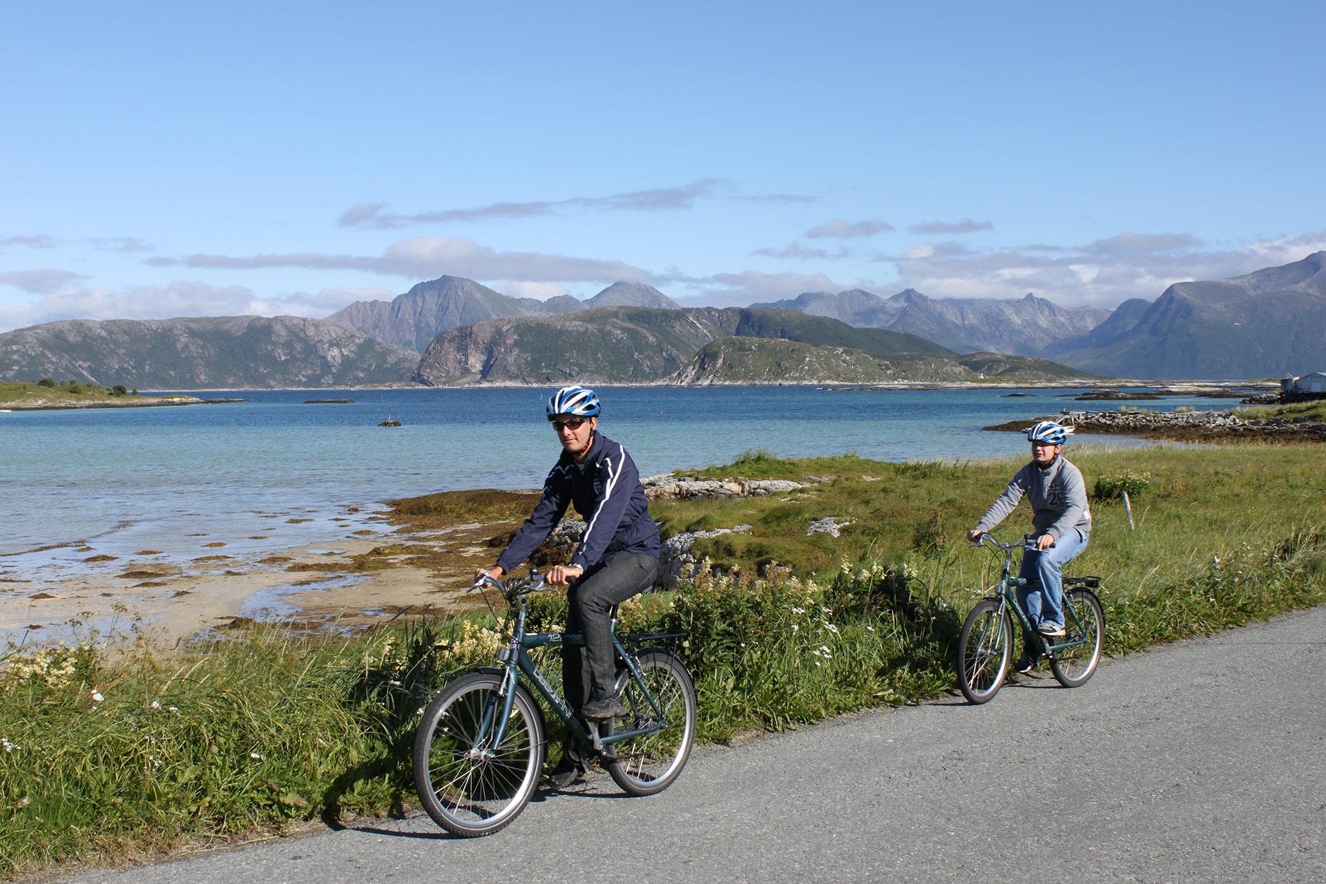 Sommarøy ved Tromsø er lettrødd © Frank Andreassen