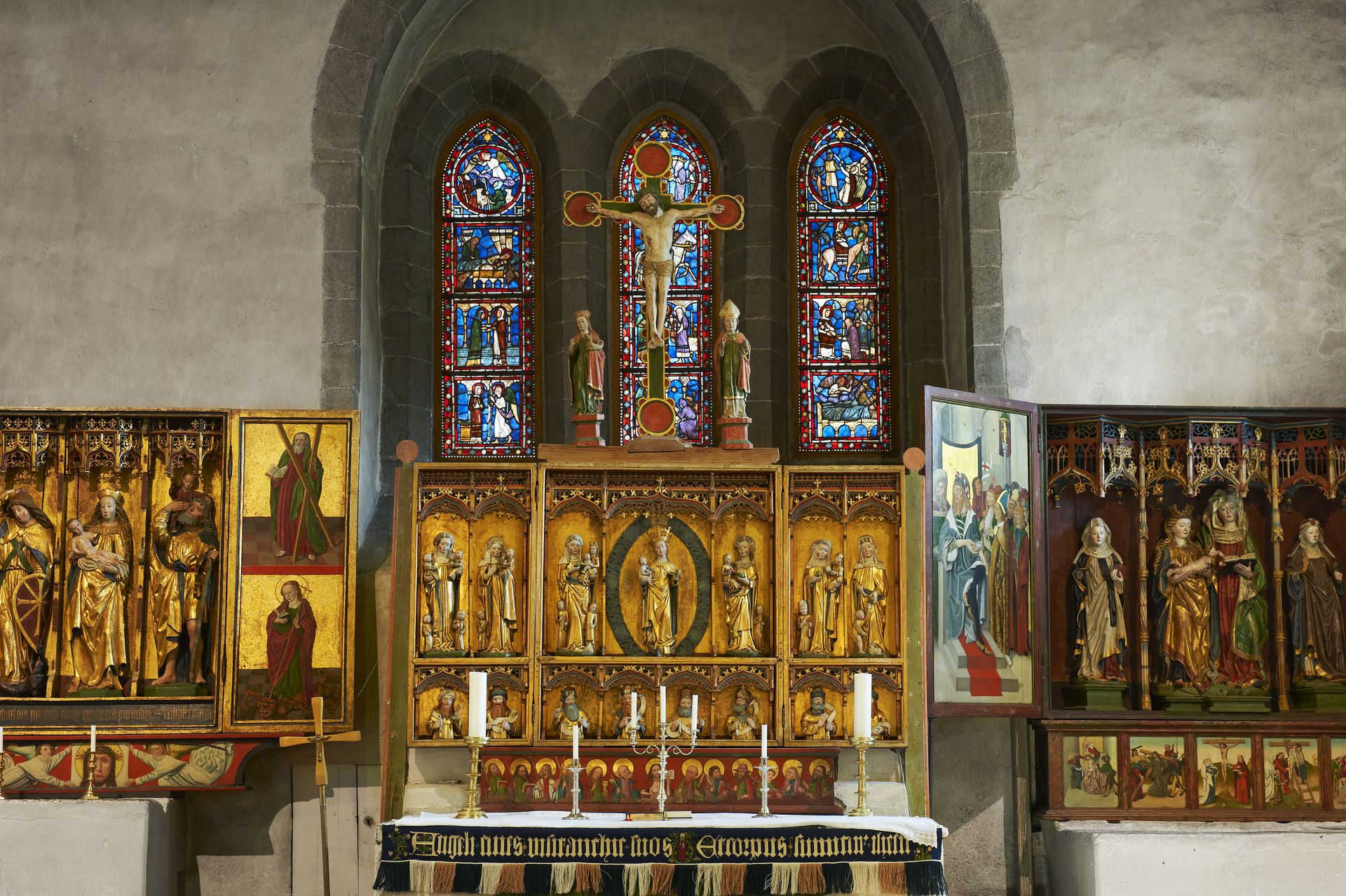 Altar Trondenes church (c) Bård Løken