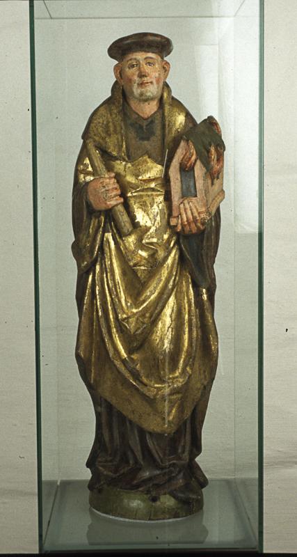 Helgenfigur fra Trondenes Museum © Sør-Troms Museum