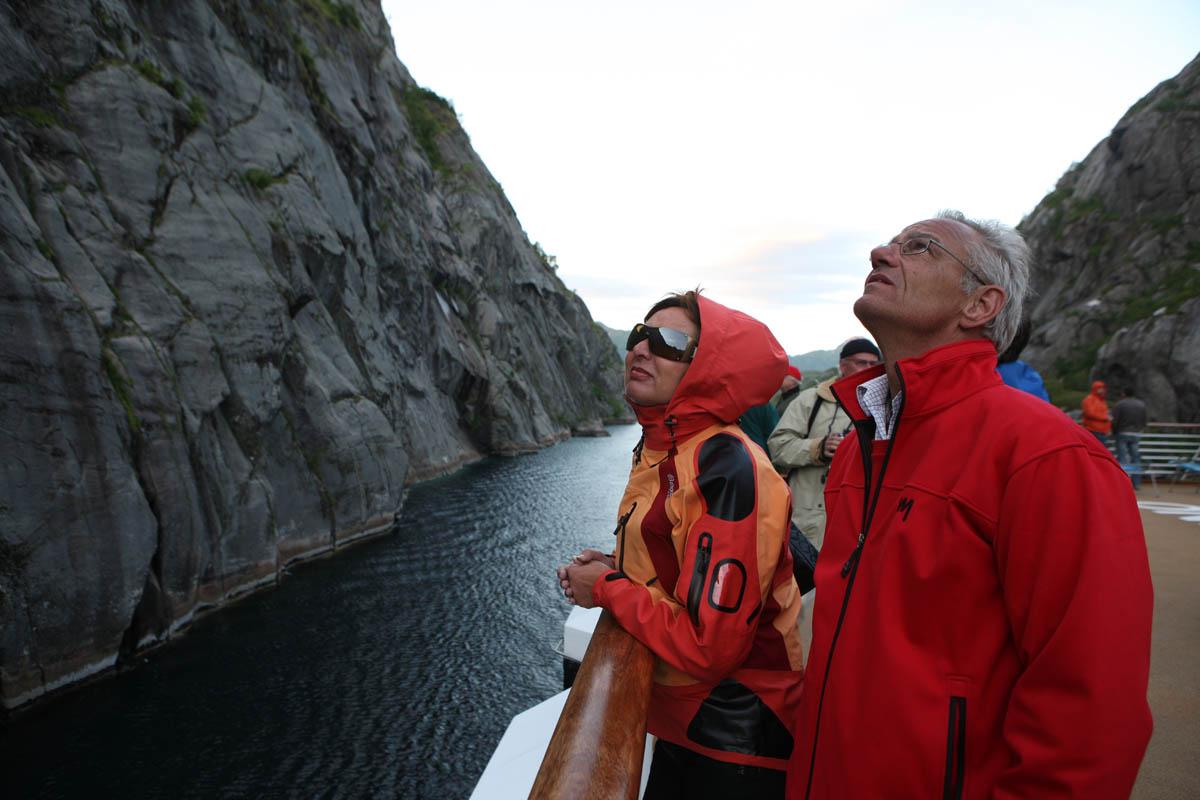 Det er trange kår innerst i Trollfjorden