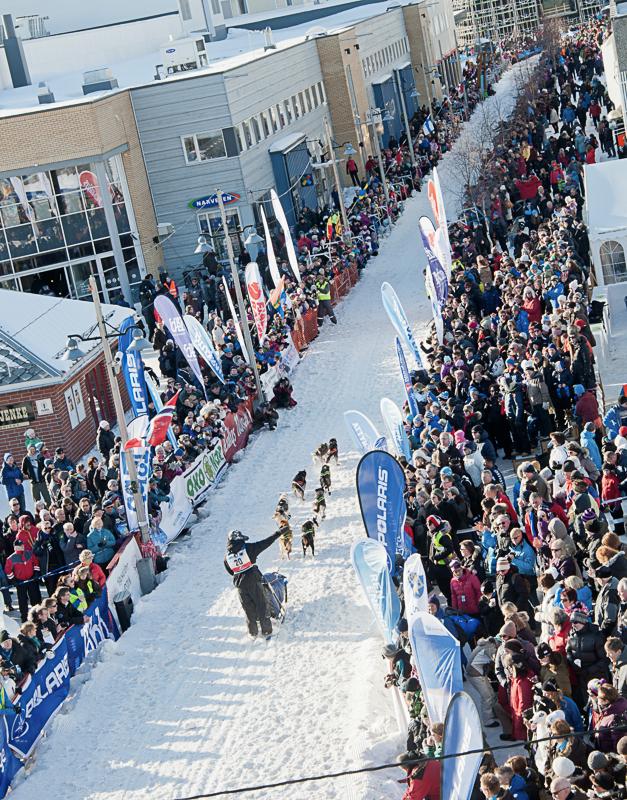 Finnmarksløpet starter i Alta i mars under stor festivitas (c) Geir Stian Larsen/Finnmarksløpet