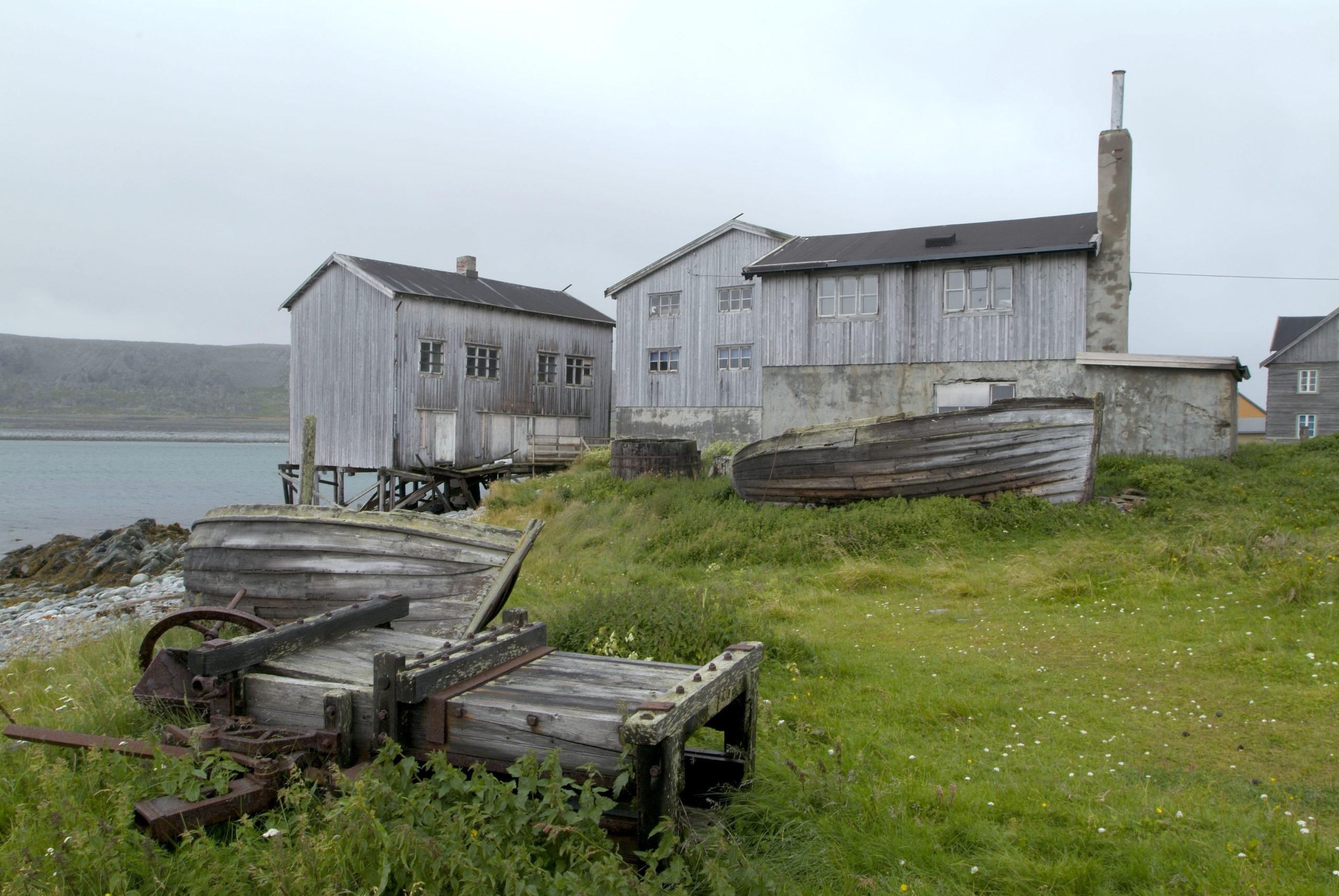 Hamningberg i Finnmark er et fint sted hvor du kan oppleve Finnmark sånn det så ut før krigen og nedbrenningen @ Jørn Tomter