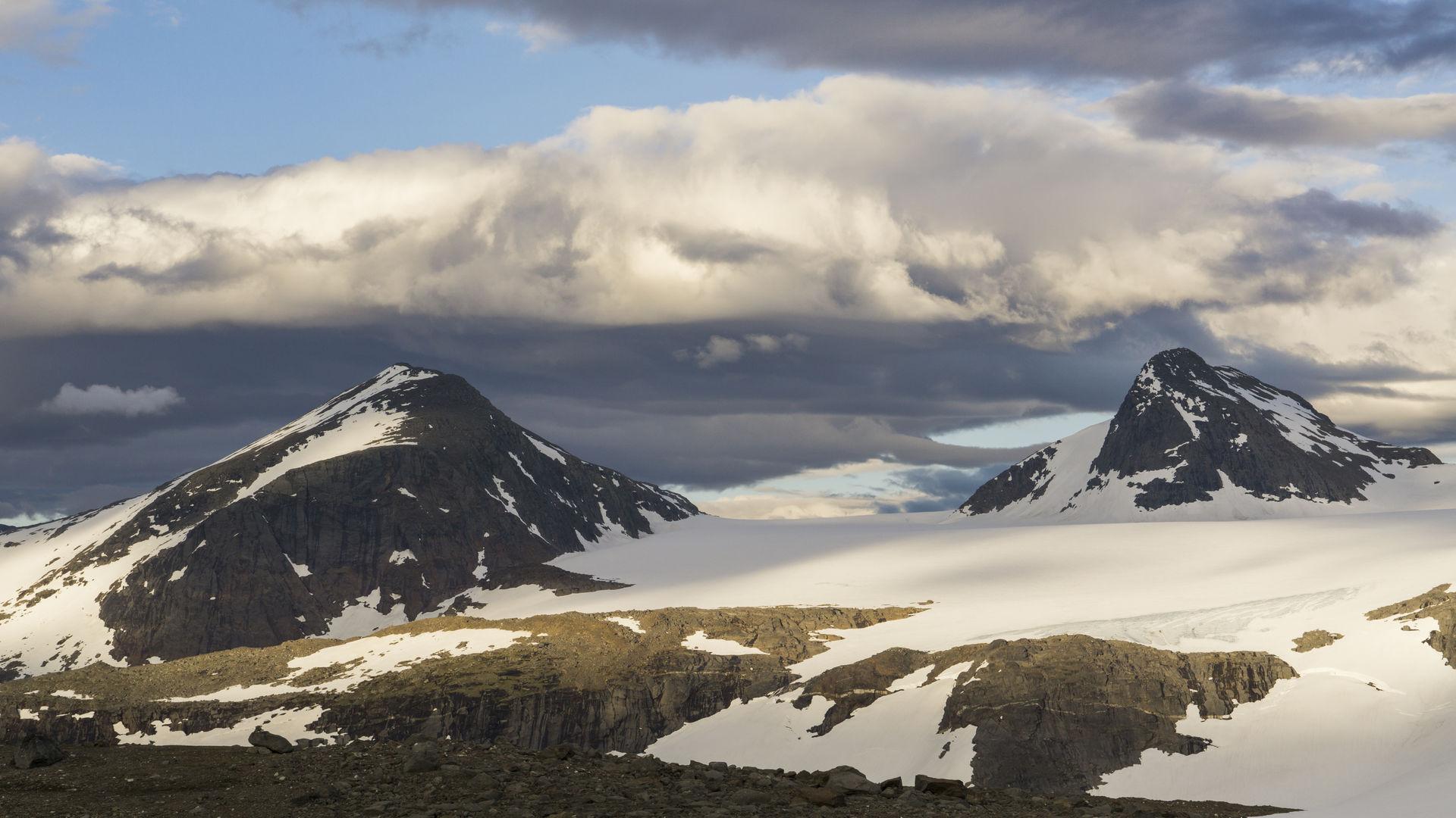 Utsikt over okstindane © Jan Inge Larsen