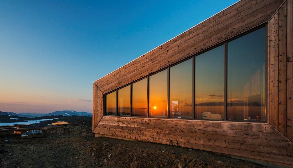 Rabothytta til dnt viser moderne arkitektur i fantastisk natur © Jan Inge Larsen