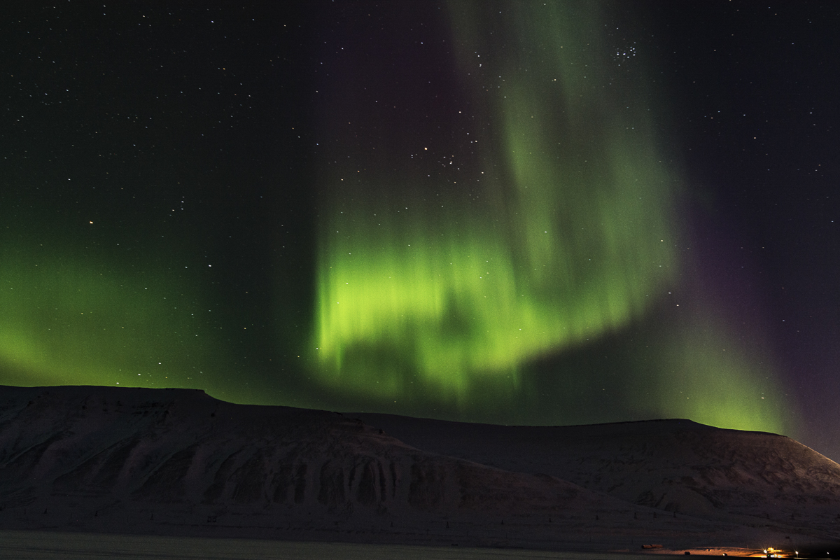 The Northern Lights on Svalbard © Jarle Røssland