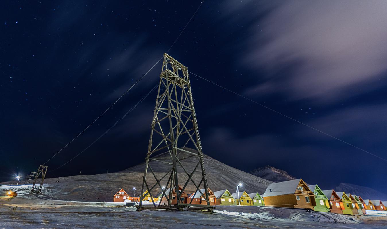 Når vintermørket senker seg, blir det liv og røre i utelivet 1100 km fra Nordpolen © Jarle Røssland