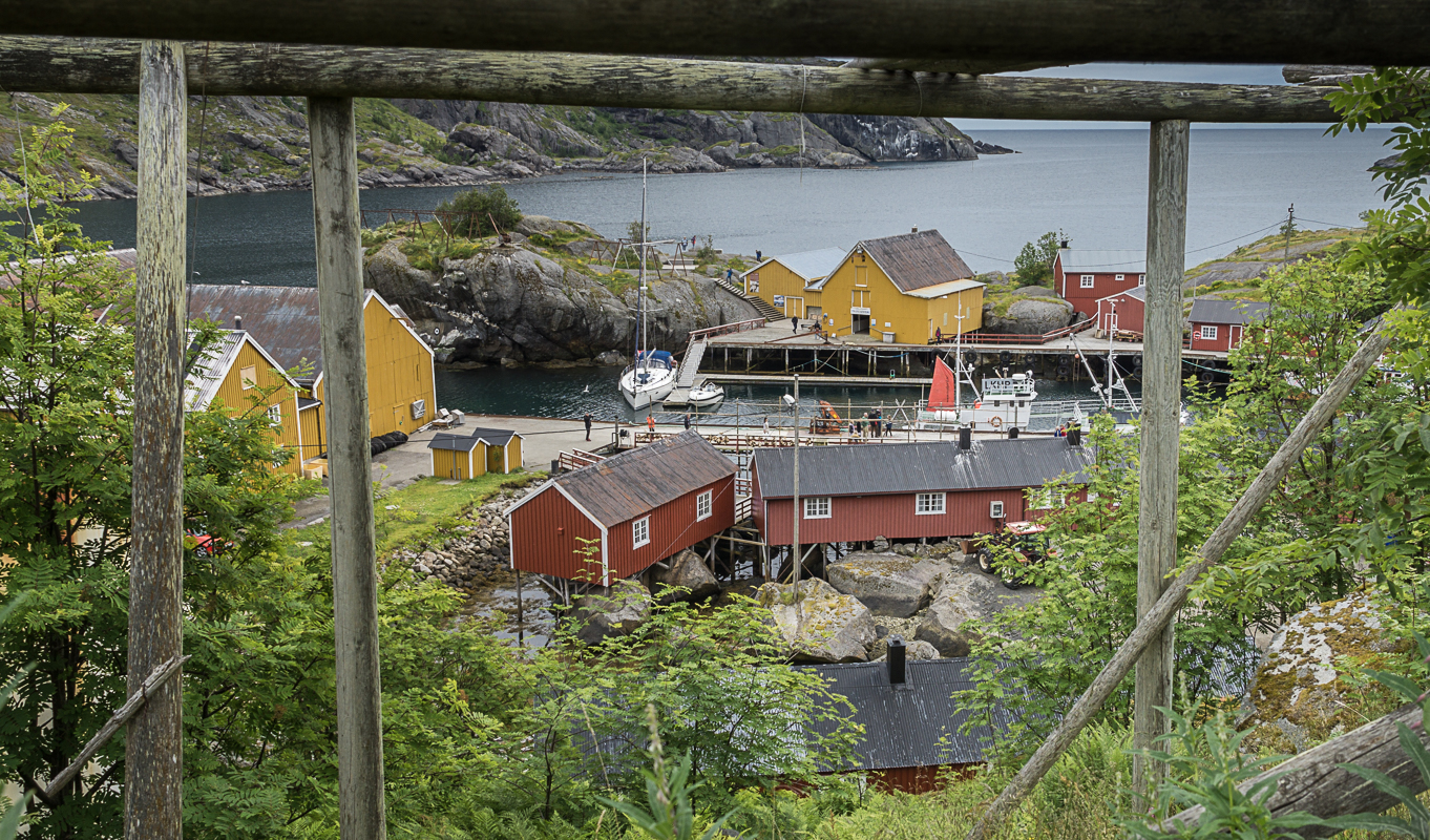 At Nusfjord you will witness the North Norwegian coastal culture at its very finest © Trine Kanter Zerwekh / Statens vegvesen