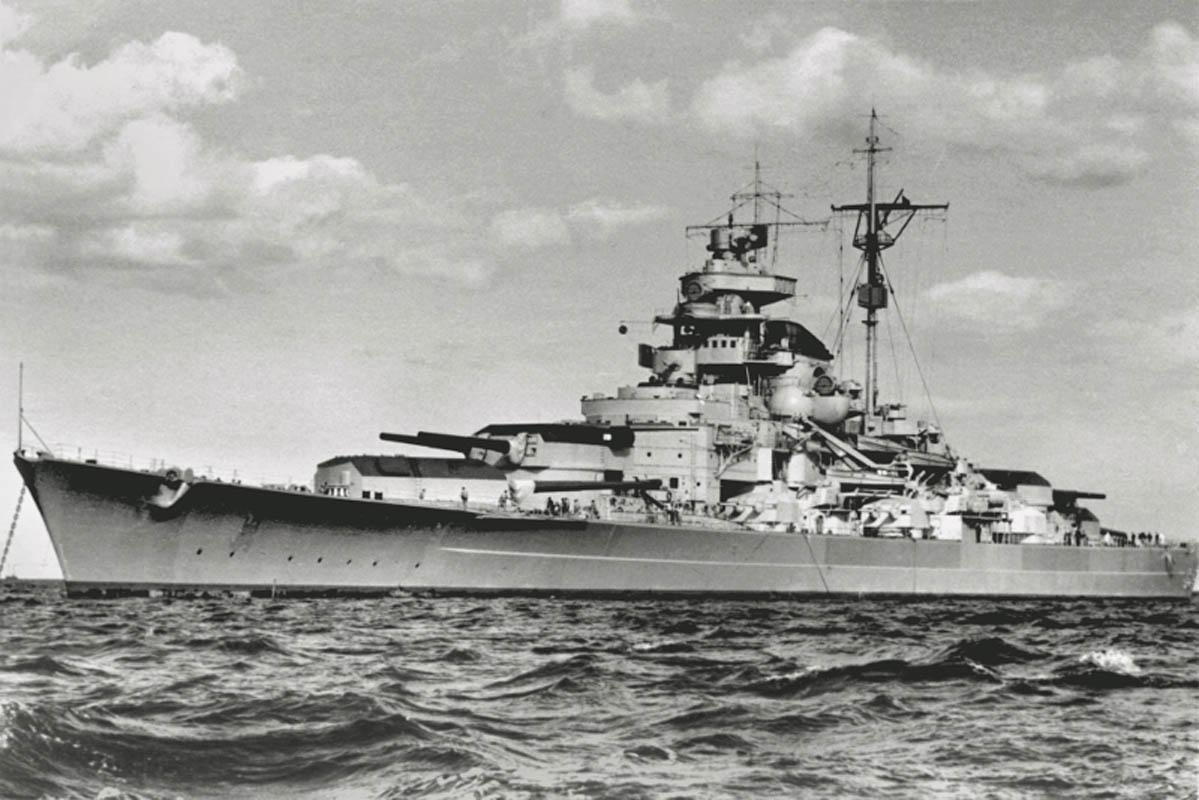 Tirpitz den gangen skipet var operativt (©) Tirpitz Museet