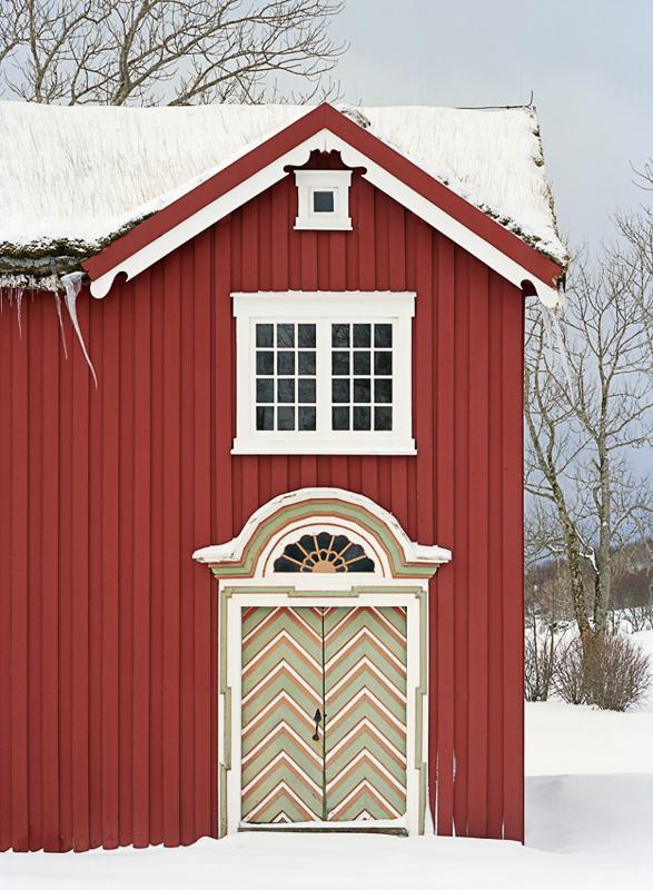 Barokkportal på den gamle prestegården © Petter Dass-museet