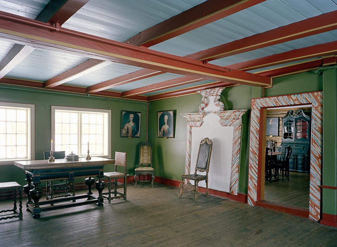 Inne i prestegården © Petter Dass-museet