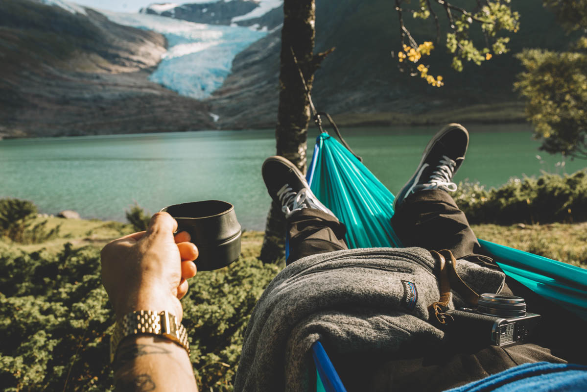 Why don't you bring your hammock for a rest? © Emil Solli