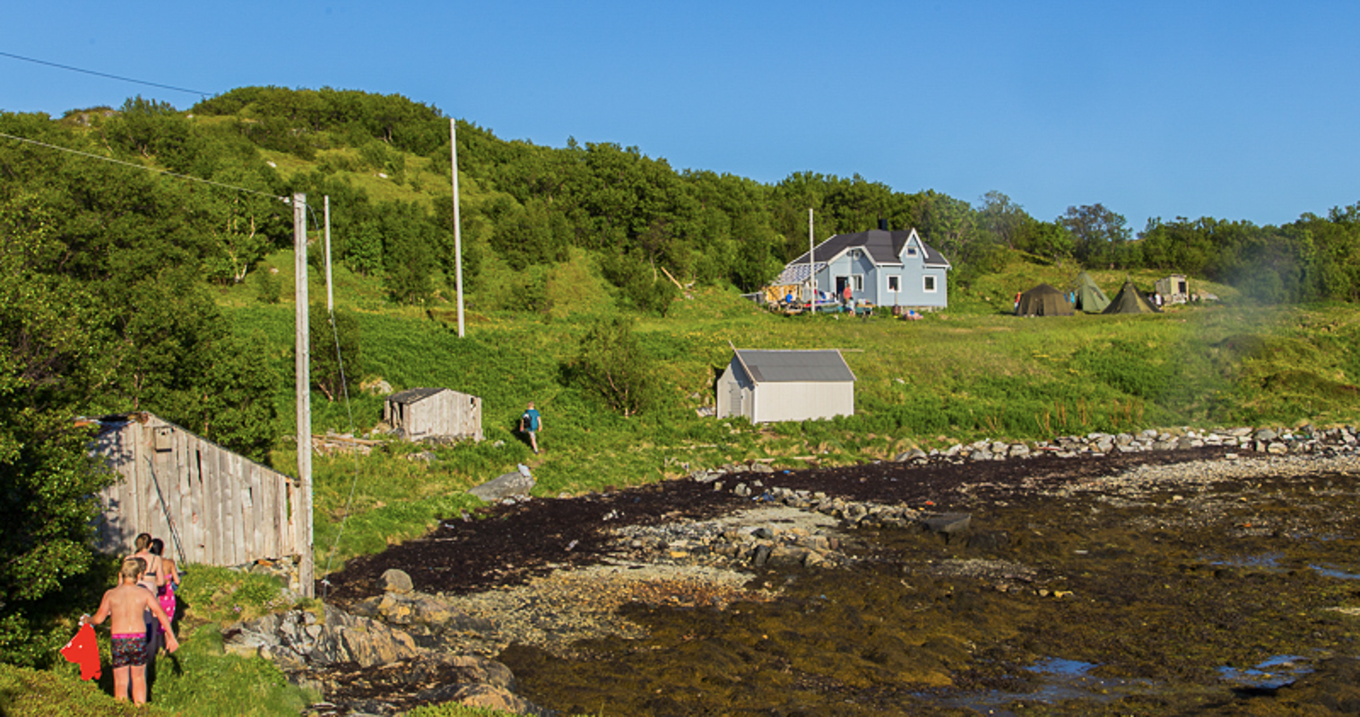 The farm in Hersøya where Jan Baalsrud found shelter (c) Tine Hagelin