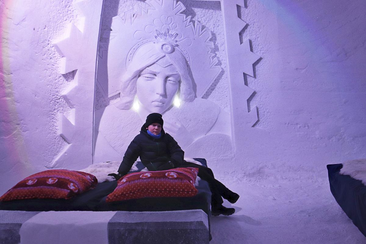 Din suite av is og snø © Sorrisniva