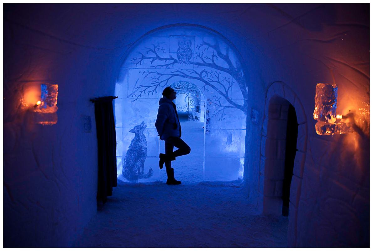Blått og gyllent lys © Yngve Olsen Sæbbe