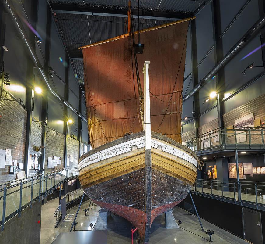 The stern © Ernst Furuhatt The Jekt Trade Museum Bodø