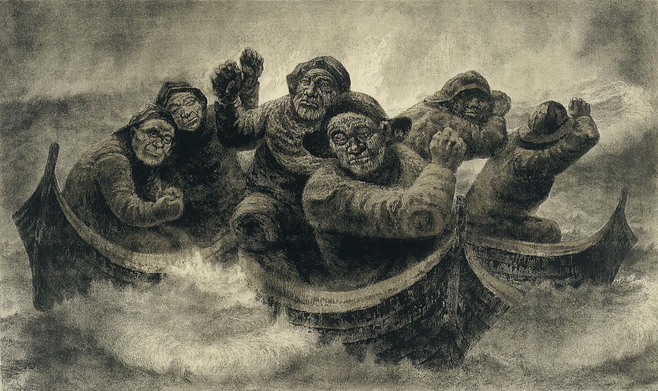 Juksafiskere © Kaare-Espolin-Johnson