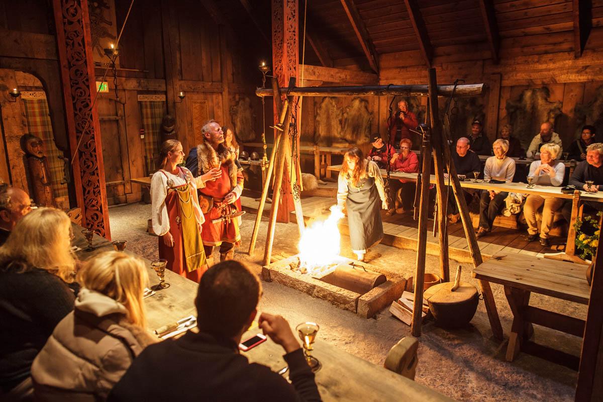 Loftor Vikingmuseum tar deg med tilbake i tiden © Kjell Ove Storvik