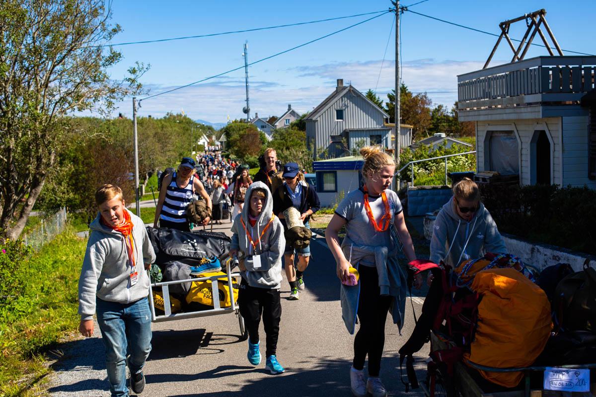 Du er ikke alene på Trænafestivalen  © Mats Hoel Johannessen