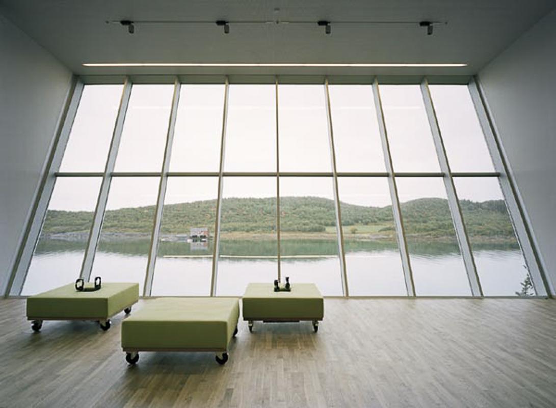 Utsikt mot nord © Petter Dass-museet